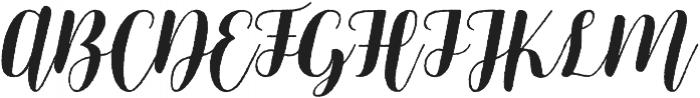 Mericella Rougen otf (400) Font UPPERCASE