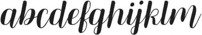 Mericella Rougen otf (400) Font LOWERCASE