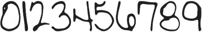 Meringue Regular otf (400) Font OTHER CHARS