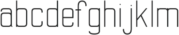 Merlin Regular otf (400) Font LOWERCASE