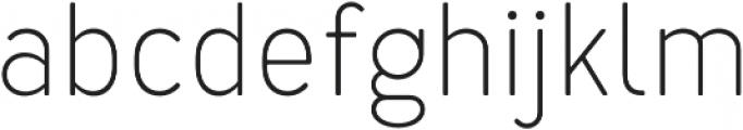 Merlo Light otf (300) Font LOWERCASE