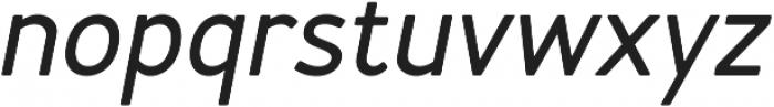 Merlo Round Bold Italic otf (700) Font LOWERCASE