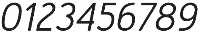 Merlo Round Medium Italic otf (500) Font OTHER CHARS