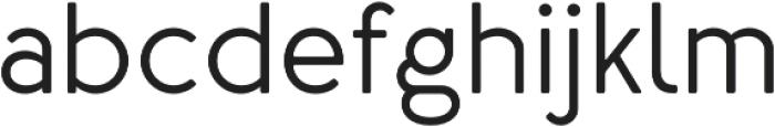 Merlo Round Medium otf (500) Font LOWERCASE