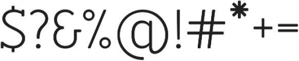 Merlo Round Serif Regular otf (400) Font OTHER CHARS