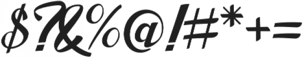 Merno otf (400) Font OTHER CHARS