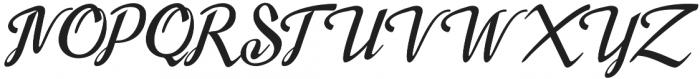 Merno otf (400) Font UPPERCASE