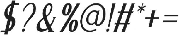 Merova Italic otf (400) Font OTHER CHARS