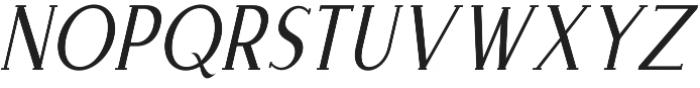 Merova Italic otf (400) Font UPPERCASE