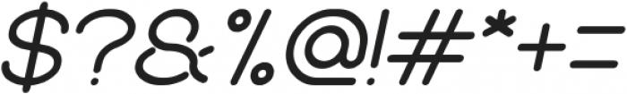 Merpati Putih Italic otf (400) Font OTHER CHARS