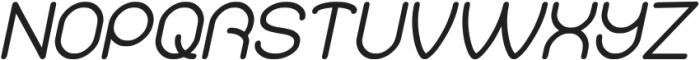 Merpati Putih Italic otf (400) Font UPPERCASE