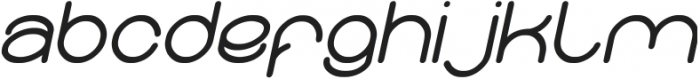 Merpati Putih Italic otf (400) Font LOWERCASE
