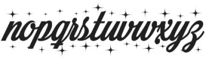 Merry Christmas Star otf (400) Font LOWERCASE