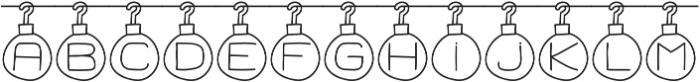 Merry Xmas ttf (400) Font UPPERCASE