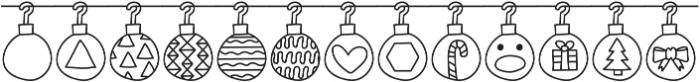 Merry Xmas ttf (400) Font LOWERCASE