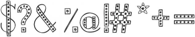 Merrylights ttf (300) Font OTHER CHARS