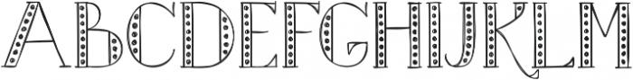 Merrylights ttf (300) Font UPPERCASE