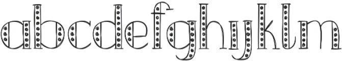 Merrylights ttf (300) Font LOWERCASE