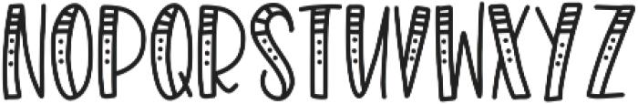 Merrymaking2CLN Regular ttf (400) Font LOWERCASE
