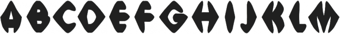 Meso Sharp otf (400) Font UPPERCASE