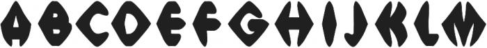 Meso Sharp otf (400) Font LOWERCASE