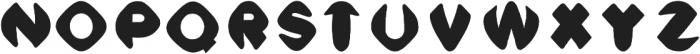 Meso Wide otf (400) Font LOWERCASE