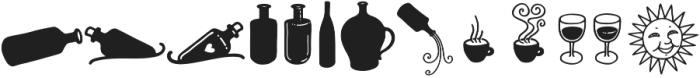 Message In A Bottle Doodles Regular otf (400) Font UPPERCASE