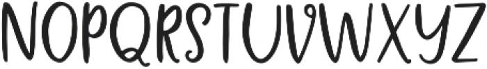 Message In A Bottle Sans Regular otf (400) Font UPPERCASE