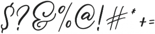 Message In A Bottle Script Alternates Regular otf (400) Font OTHER CHARS