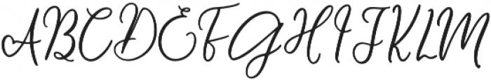 Message In A Bottle Script Regular otf (400) Font UPPERCASE