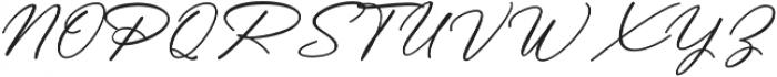 Messy Nessy Script 1 otf (400) Font UPPERCASE