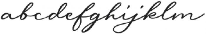 Messy Nessy Script 1 otf (400) Font LOWERCASE