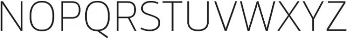 Mestre Thin otf (100) Font UPPERCASE