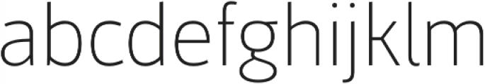 Mestre Thin otf (100) Font LOWERCASE