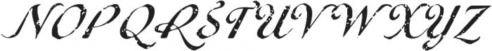 Metairie Rough Regular otf (400) Font UPPERCASE