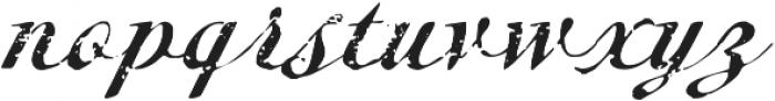 Metairie Rough Regular otf (400) Font LOWERCASE