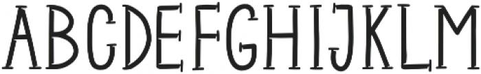 Metal Shadowed otf (400) Font UPPERCASE