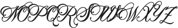 Metalurdo Regular otf (400) Font UPPERCASE