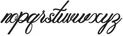 Metalurdo Regular otf (400) Font LOWERCASE