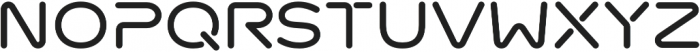 Meteoric otf (700) Font UPPERCASE
