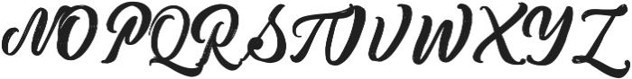 Metic Pro Bold ttf (700) Font UPPERCASE