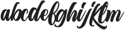 Metic Pro Bold ttf (700) Font LOWERCASE