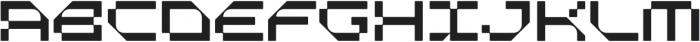 Metis Mono Regular otf (400) Font UPPERCASE