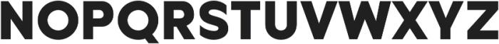 Metrisch ExtraBold otf (700) Font UPPERCASE