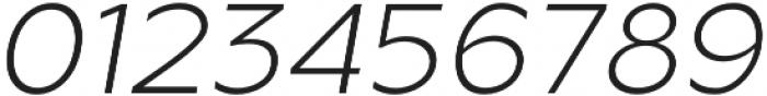 Metrisch Light Italic otf (300) Font OTHER CHARS
