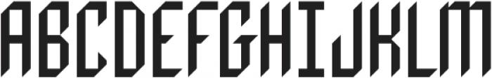 Metrix otf (400) Font UPPERCASE
