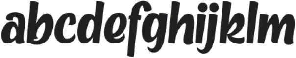 Metro Beardy otf (400) Font LOWERCASE