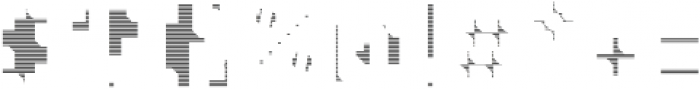MetroBots otf (400) Font OTHER CHARS
