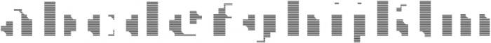 MetroBots otf (400) Font LOWERCASE