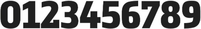 Metronic Slab Narrow Black otf (900) Font OTHER CHARS